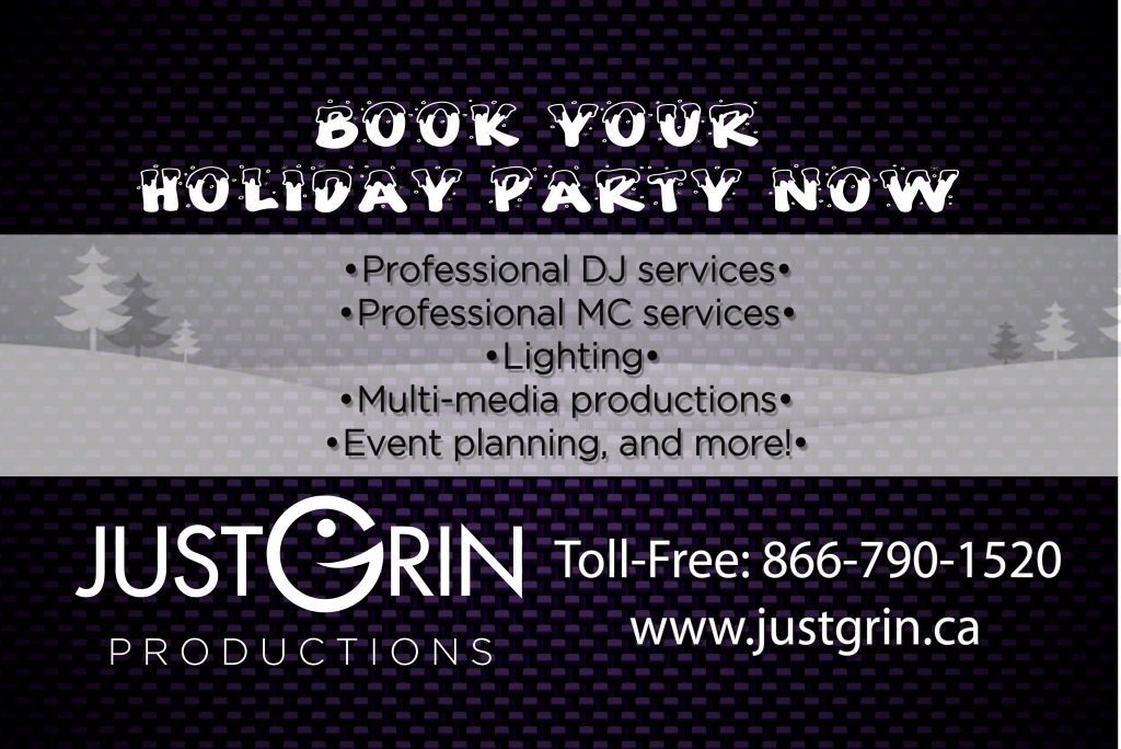 Book Your Holiday Party Now