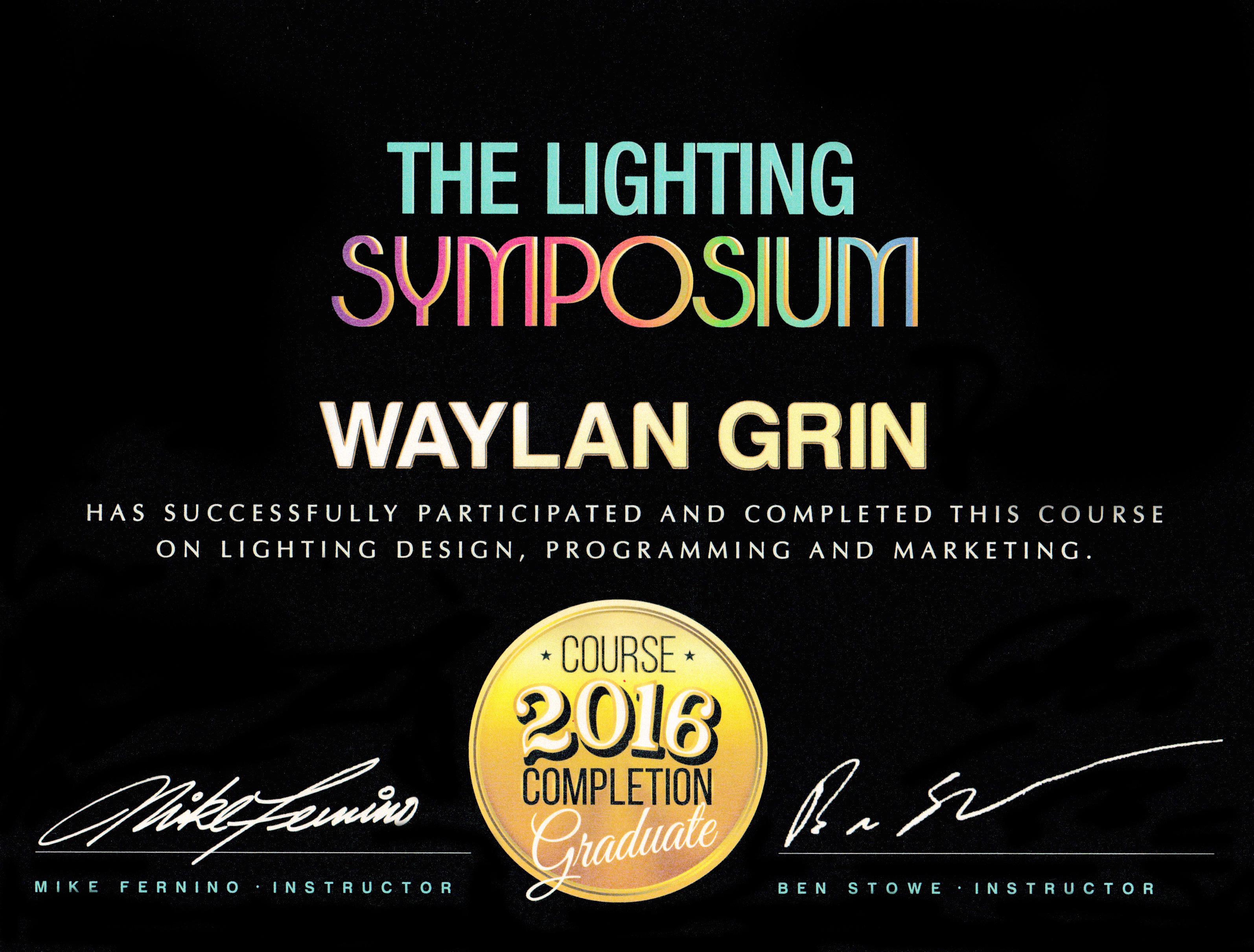 Lighting Symposium